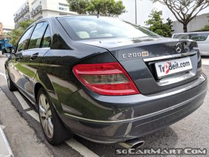 Used Mercedes-Benz C200K Car for Sale in Singapore, Tradeit