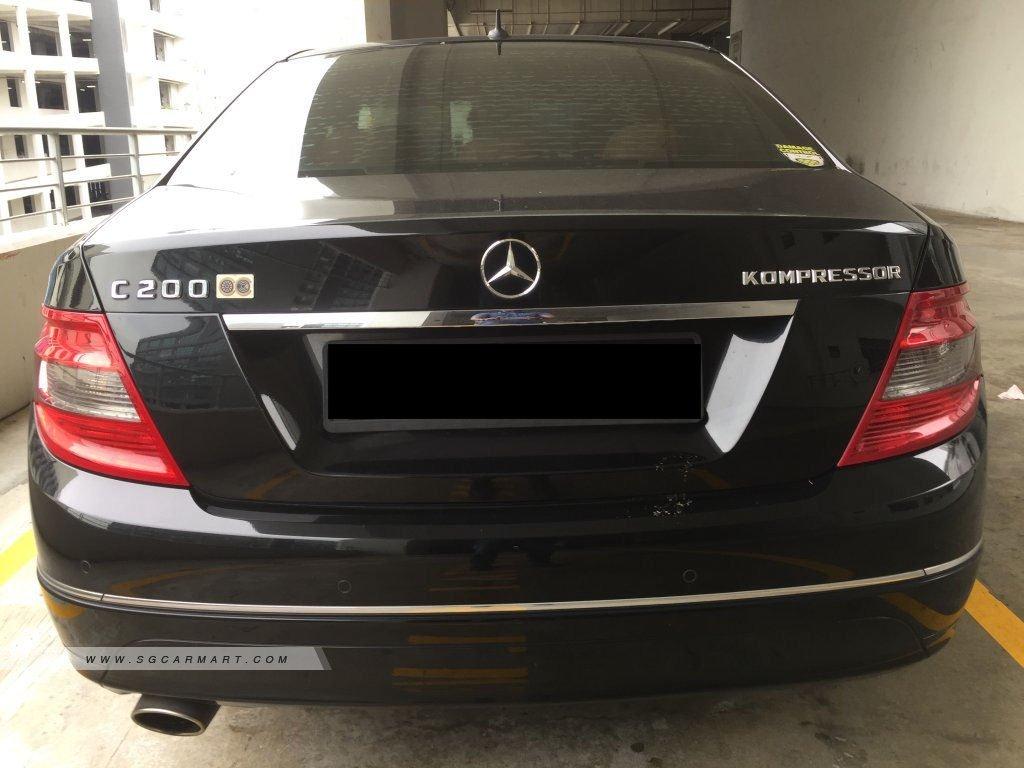 2009 Mercedes-Benz C-Class C200K Photos & Pictures Singapore