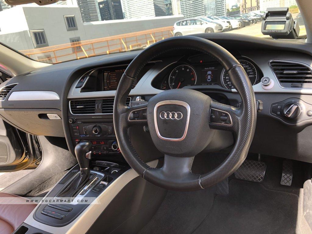 Audi A4 1.8A TFSI MU (New 10-yr COE)