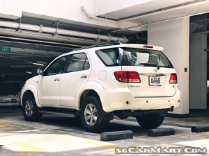 Used Toyota Fortuner Car for Sale in Singapore, Axle Motors