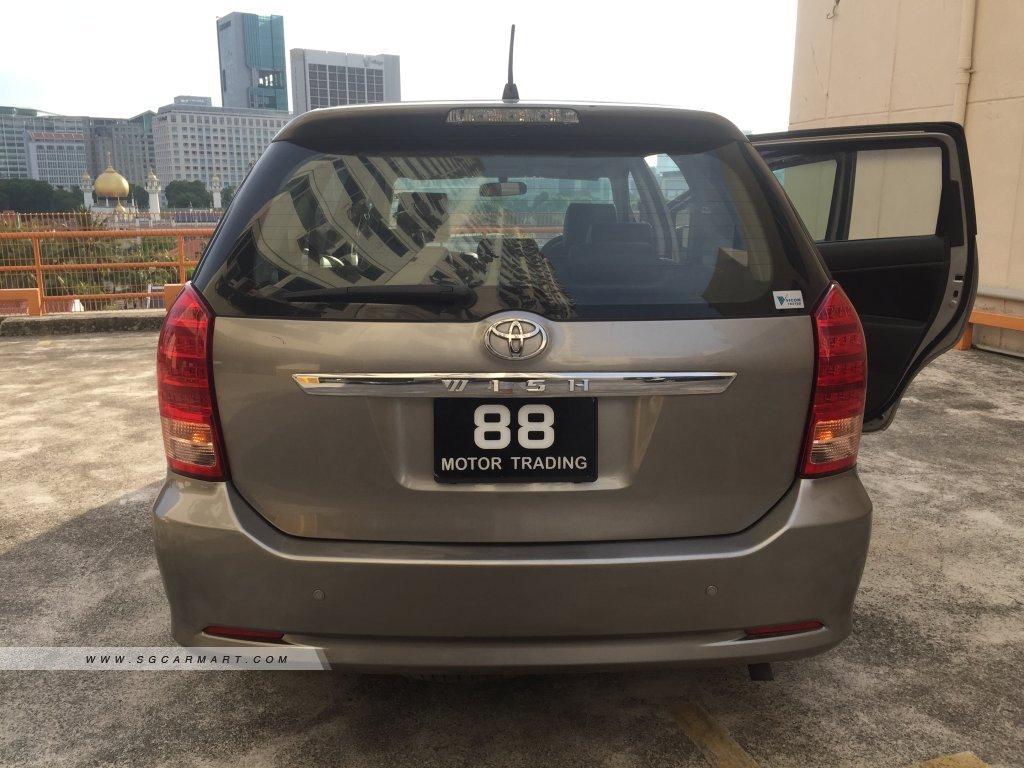 Toyota Wish 1.8A (COE till 01/2029)