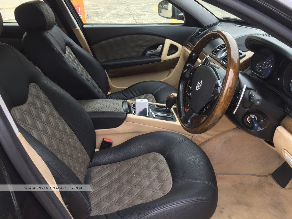 Maserati Quattroporte 4.2A (New 10-yr COE)