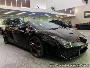 Lamborghini Gallardo Spyder LP560-4 (New 10-yr COE)