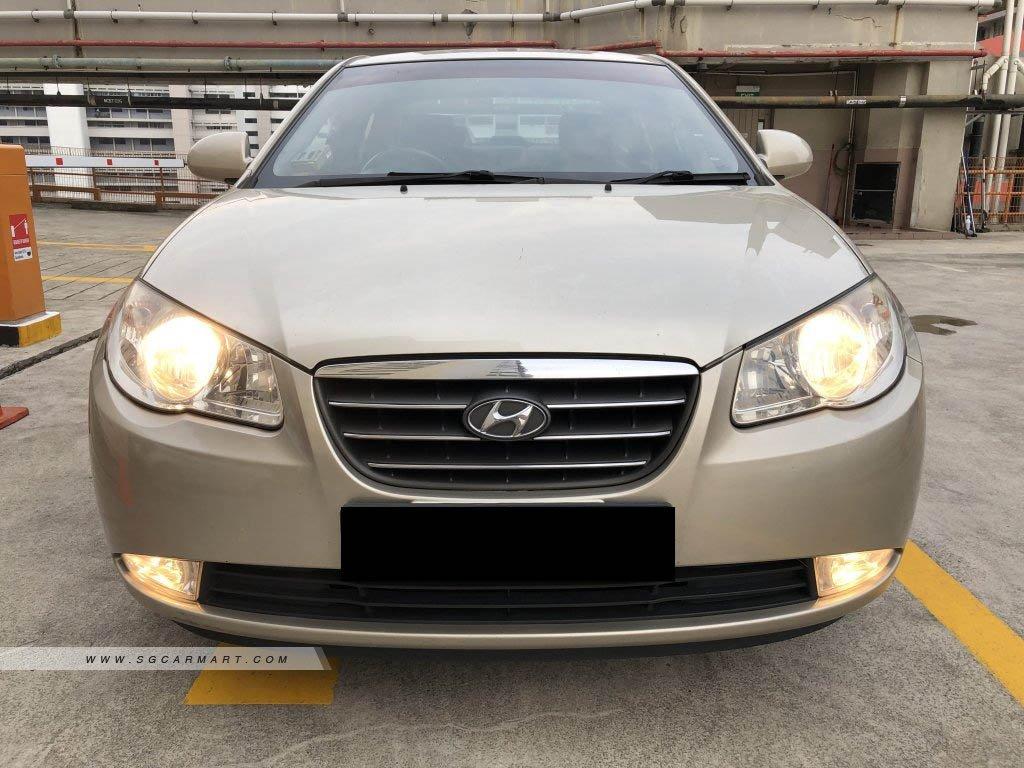 Hyundai Avante 1.6A S Sunroof (New 5-yr COE)