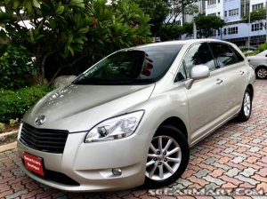 Used Toyota Mark X Zio 2 4A (COE till 04/2029) Car for Sale