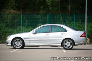 0efe1cf782 Used Mercedes-Benz C-Class C32 AMG (COE till 04 2029) Car for ...