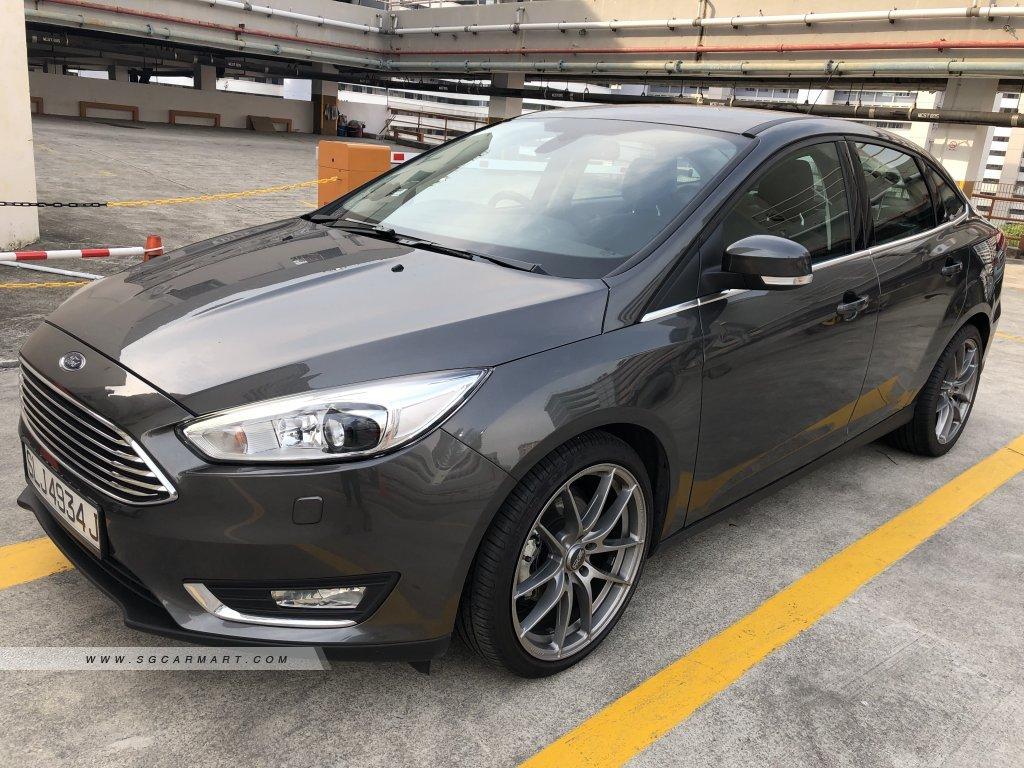 Ford Focus 1.0A GTDI Titanium