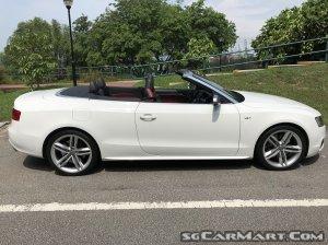 Audi S5 Cabriolet 3.0A TFSI Quattro (COE till 04/2029)