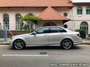Used Mercedes-Benz C-Class C200K AMG Line (COE till 03/2029