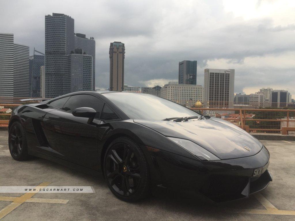 Lamborghini Gallardo LP560-4 (COE till 06/2028)