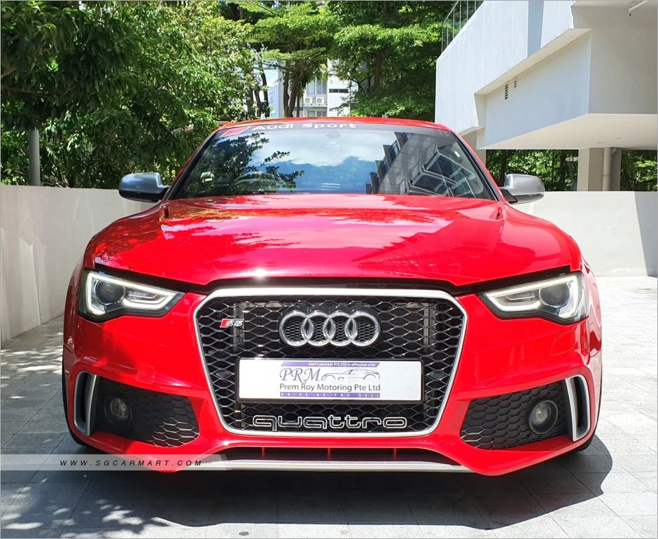 Used Audi S5 Car for Sale in Singapore, Prem Roy Motoring