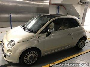 Fiat 500 1.2A Lounge Sunroof (COE till 09/2028)
