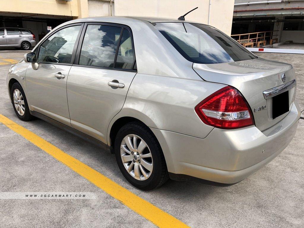 Nissan Latio 1.5A (COE till 11/2020)