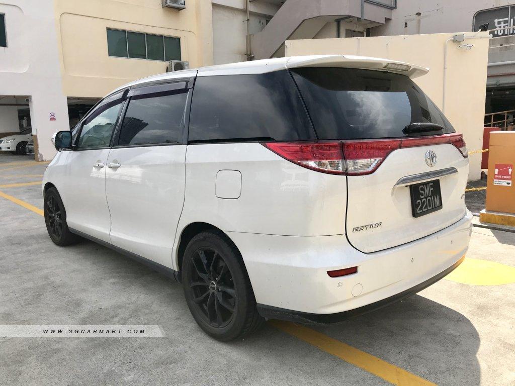 Toyota Estima 2.4A X Moonroof (New 10-yr COE)