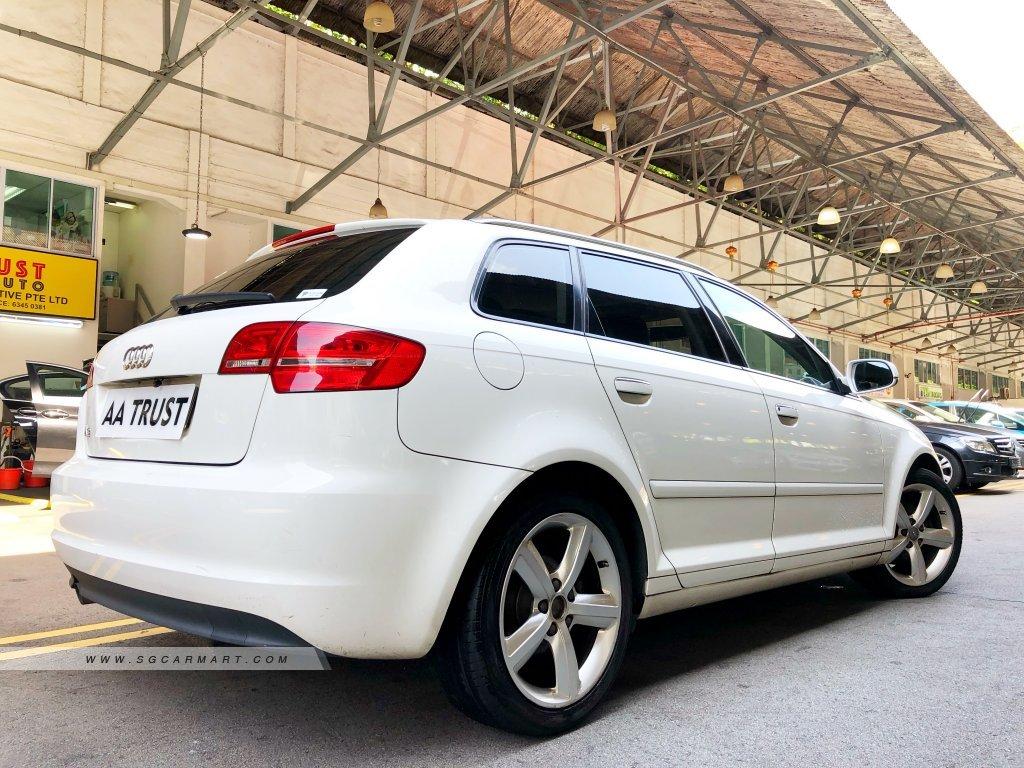 2012 Audi A3 Sportback 1 6A Tip Photos & Pictures Singapore
