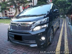Used Toyota Vellfire 3 5A Z (COE till 09/2028) Car for Sale In