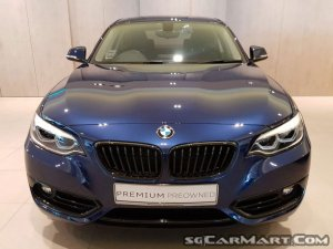 BMW 2 Series 218i Coupe Sunroof