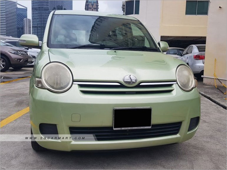 Toyota Sienta 1.5A (COE till 10/2021)