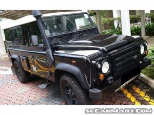Land Rover Defender 110 Hardtop (New 10-yr COE)