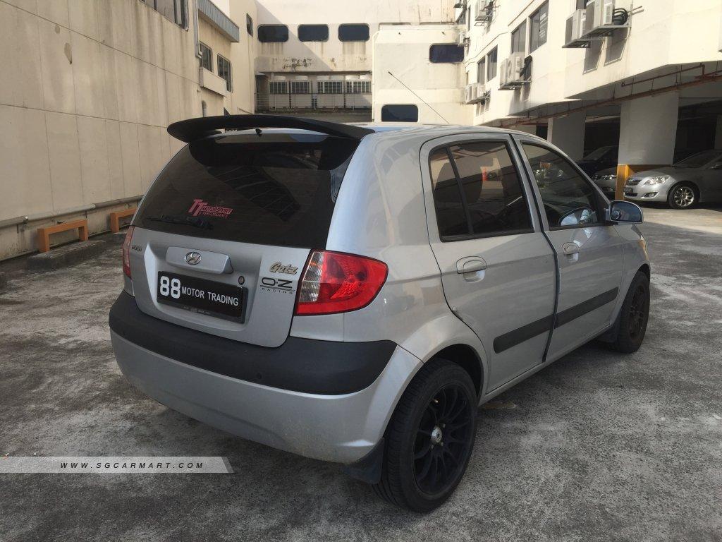 Hyundai Getz 1.4A 5DR (New 5-yr COE)