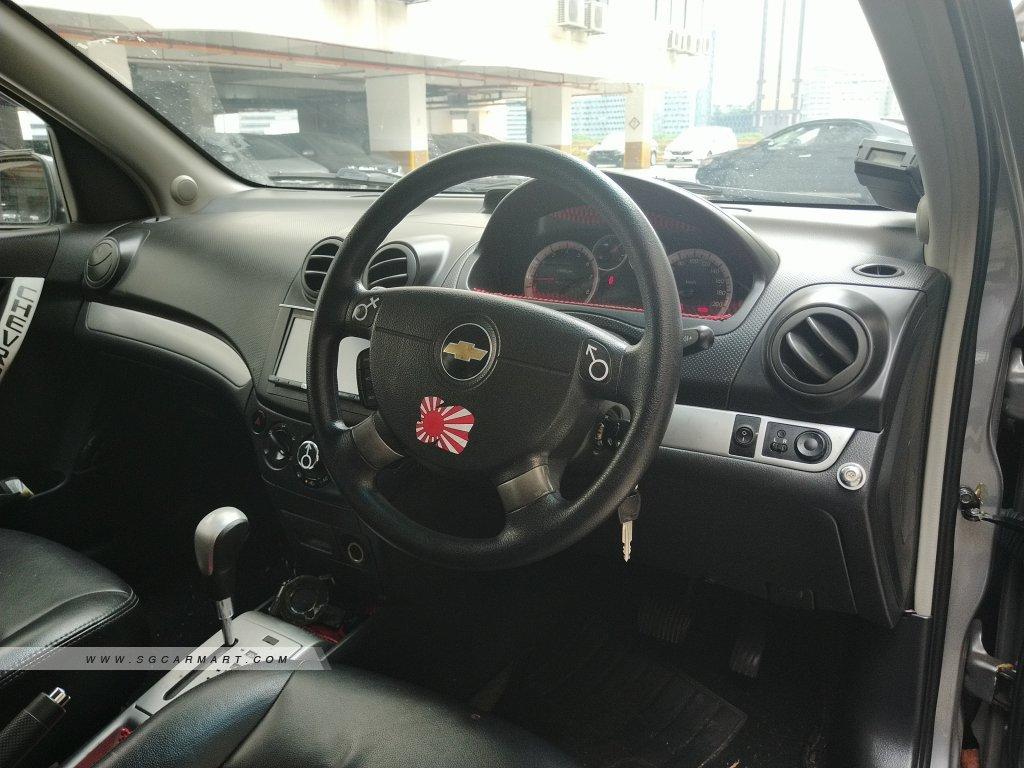 Chevrolet Aveo 1.4A (New 5-yr COE)
