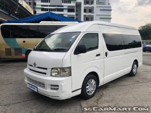 Toyota Hiace 2.5A (COE till 08/2027)