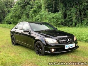 Used Mercedes Benz C Class C180k New 10 Yr Coe Car For Sale In