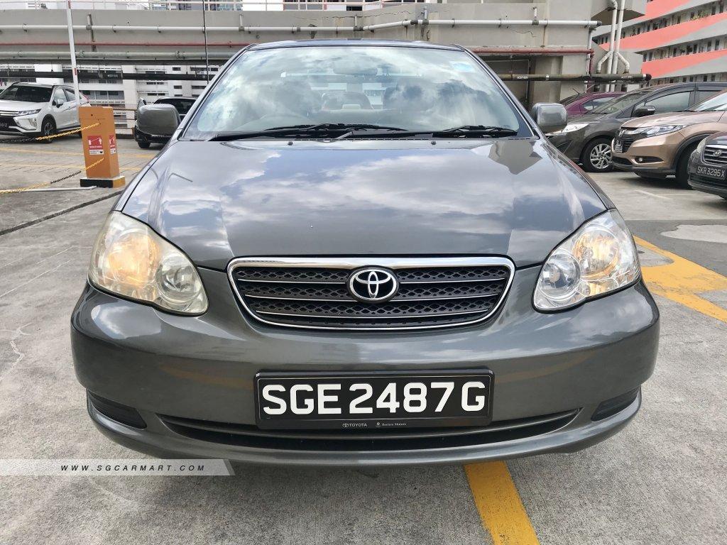 Toyota Corolla Altis 1.6A (COE till 03/2021)