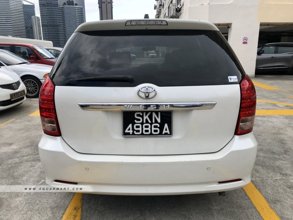 Toyota Wish 1.8A X Limited (COE till 03/2022)