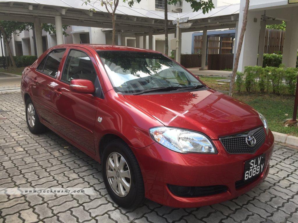 Toyota Vios 1.5A E (COE till 03/2021)