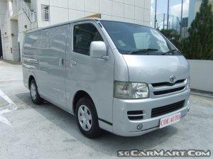 Toyota Hiace 3.0M (COE till 01/2024)