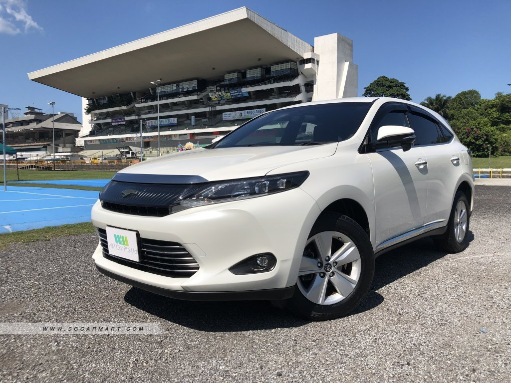 Used Toyota Harrier Car for Sale in Singapore, WM Car Pte ... on