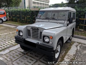Land Rover Series II 88 (COE till 11/2021)
