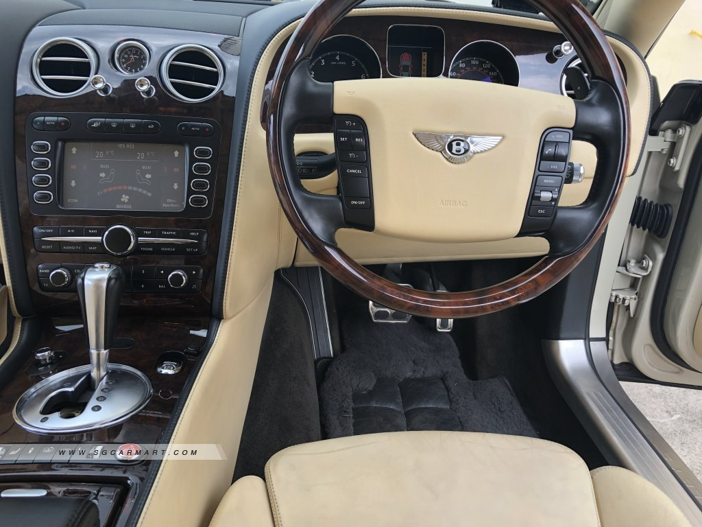Bentley Continental Flying Spur 6.0A (New 10-yr COE)