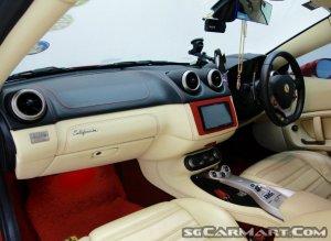 Ferrari California 4.3A (New 10-yr COE)