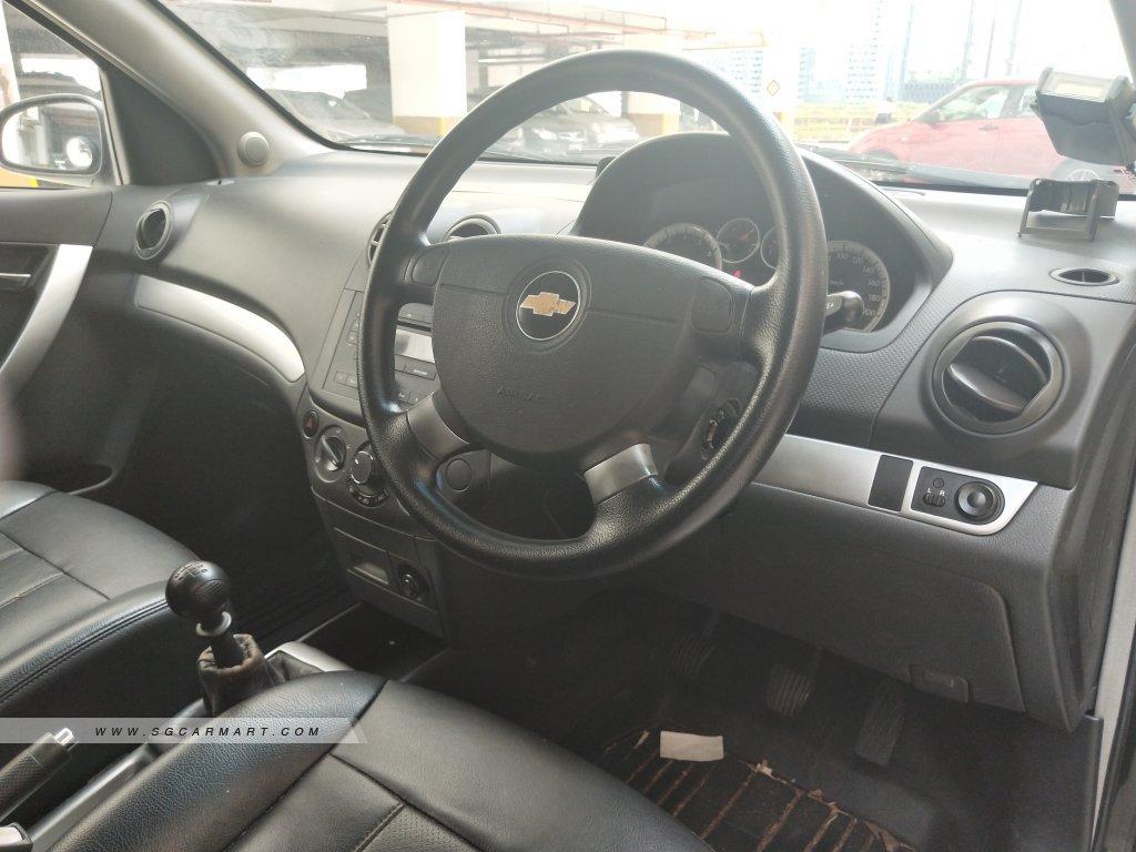 Chevrolet Aveo5 1.4M (OPC) (New 5-yr COE)