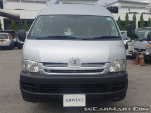 Toyota Hiace 3.0A DX High Roof (New 5-yr COE)