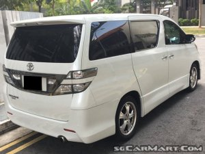 Toyota Vellfire 2.4A Z Platinum Selection (New 10-yr COE)