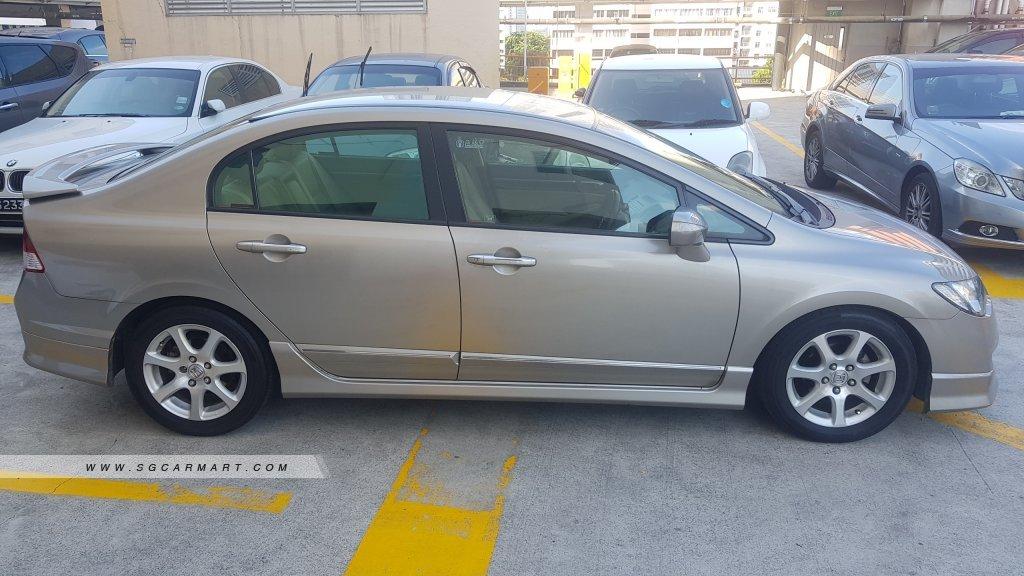 Honda Civic 1.8A VTi-S (COE till 02/2021)