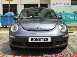 Volkswagen New Beetle 1.6A (New 5-yr COE)