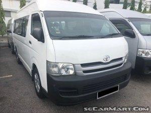 Toyota Hiace Commuter 3.0A High Roof (COE till 08/2024)