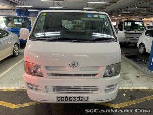 Toyota Hiace 3.0M (New 5-yr COE)