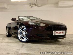 Aston Martin DB9 Volante 6.0A (New 10-yr COE)