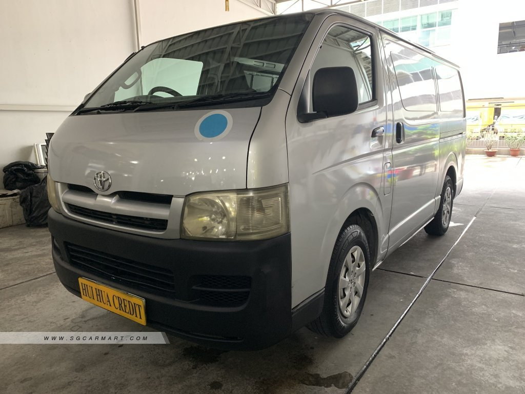 Used Toyota Hiace Car for Sale in Singapore, Hui Hua Credit