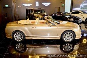 Bentley Continental GT Convertible 6.0A (New 10-yr COE)