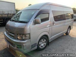 Toyota Hiace 2.5A (COE till 07/2027)