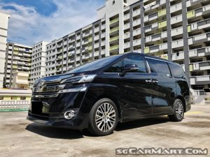 Used Toyota Vellfire 2 5A Elegance Car for Sale In Singapore