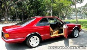 Mercedes-Benz 500SEC (COE till 09/2029)