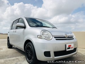 Toyota Sienta 1.5A X Limited (COE till 10/2024)