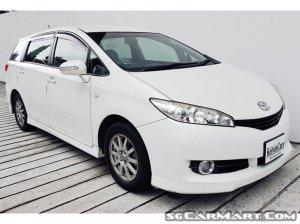 Toyota Wish 2.0A (New 10-yr COE)